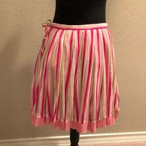 Banana Republic flowy knee length skirt